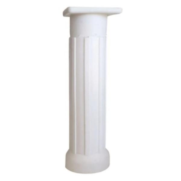 PE PLAST REGUL 140MM BASE RETANGULAR BRANCO