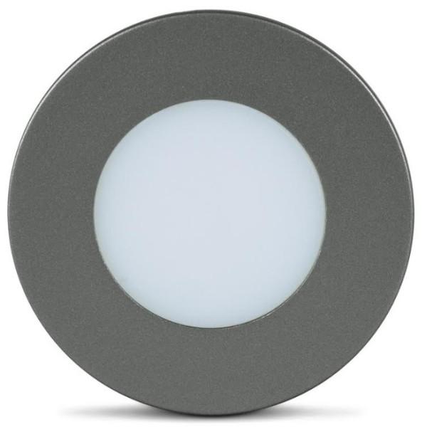LUMINARIA LED BIVOLT GRAFITE LUZ FRIA LED LINE PC60.GR